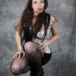 mannequin femme photographié par Ludovic Leclercq en studio.